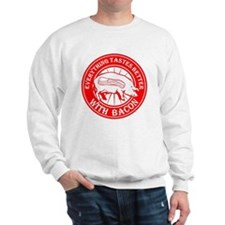 Pig Black Leg Black Burst- Red Sweatshirt