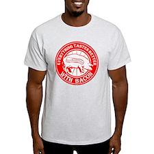 Pig Black Leg Black Burst- Red T-Shirt