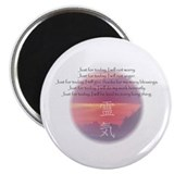 Reiki Principles Magnet