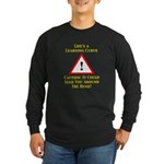 Learning Curve Long Sleeve Dark T-Shirt