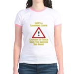 Learning Curve Jr. Ringer T-Shirt