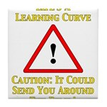 Learning Curve Tile Coaster