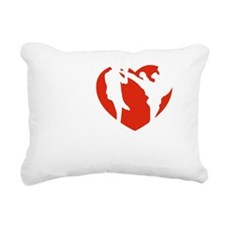 kickboxing1 Rectangular Canvas Pillow