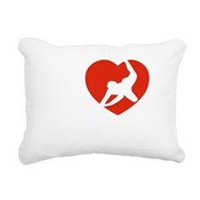rugby1 Rectangular Canvas Pillow