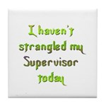 Supervisor Tile Coaster