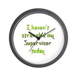 Supervisor Wall Clock