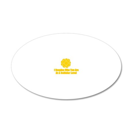 despise 20x12 Oval Wall Decal