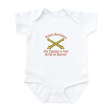 Field Artillery Daddy Infant Bodysuit