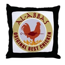 pal-chicken Throw Pillow