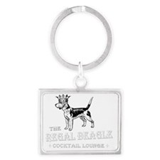 Regal Beagle Landscape Keychain