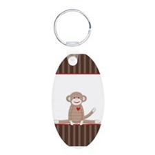 Sock Monkey iphone case Keychains
