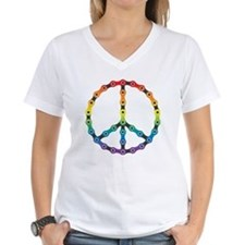 peace chain vivid Shirt