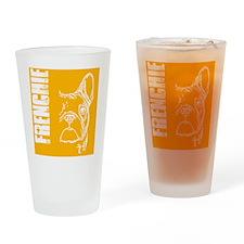 BHNW_frenchieORNG_flip_flops Drinking Glass
