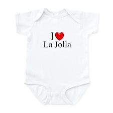 """I Love La Jolla"" Infant Bodysuit"