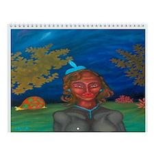 Magic hat Wall Calendar