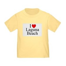 """I Love Laguna Beach"" T"