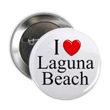 """I Love Laguna Beach"" Button"