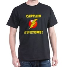Captain Awesome Yellow T-Shirt