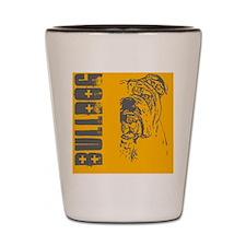 BHNW_bulldogORNG_flip_flops Shot Glass