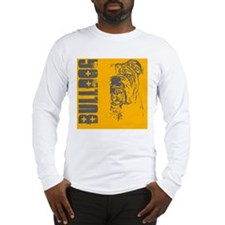 BHNW_bulldogORNG_flip_flops Long Sleeve T-Shirt