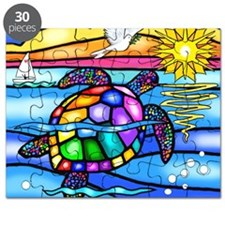 Sea Turtle 8 - square Puzzle