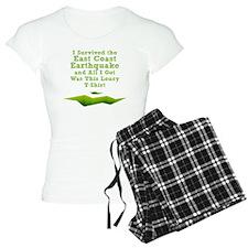 earthquake-tshirt Pajamas