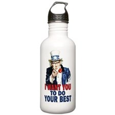 14x22_wall_peel_do_bes Water Bottle