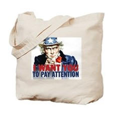calendar_pay_attention Tote Bag