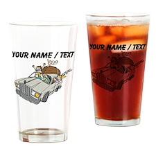 Custom Family Camping Trip Drinking Glass