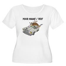 Custom Family Camping Trip Plus Size T-Shirt