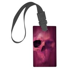 11x17_AggressiveSkull_Img_PRPL Luggage Tag