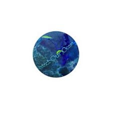 Protect Our Oceans Mini Button (100 pack)