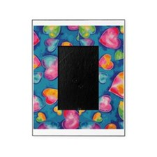Tie-Dye Hearts FF Picture Frame