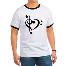 Black Music Heart T