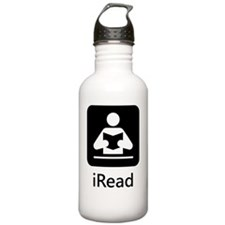 iRead Black Water Bottle