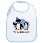 I'm the big cousin (Penguin) Bib