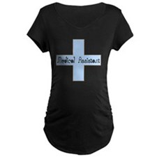 Medical assistant cross blu T-Shirt