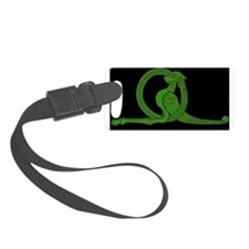 Black Dragon Luggage Tag