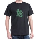 Dragon Kanji Black T-Shirt - Dragon T-Shirt