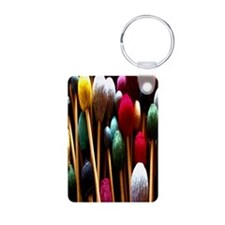 Mallets Aluminum Photo Keychain