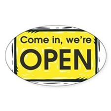 Were open Decal