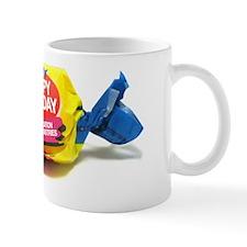 Happy Monday Bubble Gum Small Mug