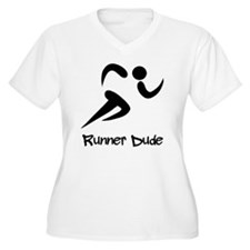 Runner Dude Black T-Shirt