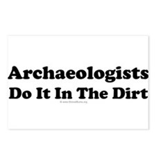 Archaeologists Do It In The Dirt Postcards (Packag