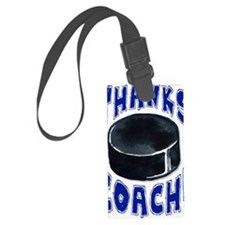 ThxHockeyCoach Luggage Tag