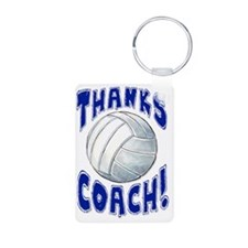 ThxVolleybCoach Aluminum Photo Keychain