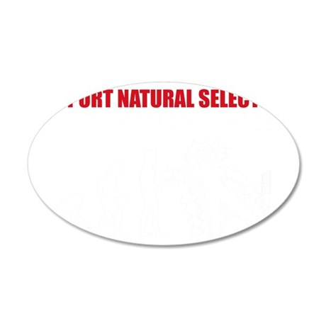 Natural Selection V22 35x21 Oval Wall Decal