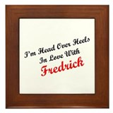 In Love with Fredrick Framed Tile