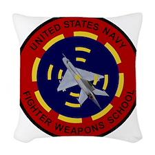 USNFWS Woven Throw Pillow
