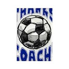 ThxSoccerCoach Rectangle Magnet